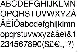 Identifont - Helvetica